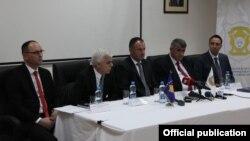 Pamje nga konferenca e Policisë së Kosovës