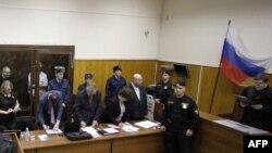 Чтение приговора Михаилу Ходорковскому и Платону Лебедеву в Хамовническом суде, 30 декабря 2010