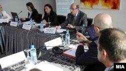 Состанок за улогата на oмбудсманот во заштита на децата бегалци/мигранти