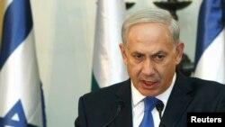 Baş nazir r Benjamin Netanyahu