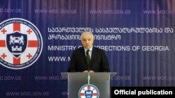 Новоназначенный руководитель МВД Грузии Георгий Мгебришвили