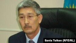 Ақтау қаласының жаңа тағайындалған әкімі Серікбай Тұрымов.