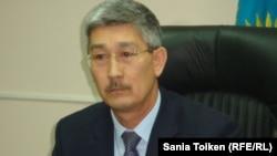 Новоназначенный аким города Актау Серикбай Трумов, бывший аким Жанаозена.
