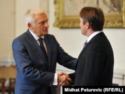 Jerzy Buzek i Željko Komšić, Sarajevo, 4.novembar 2011