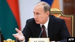 Vladimir Putin gjatë fjalimit të sotëm në Minsk të Bjellorusisë