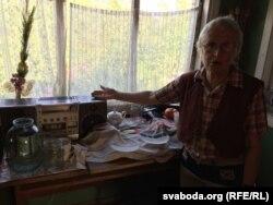 На гэтым прыймачы Ніна Багінская шмат гадоў слухае Радыё Свабода