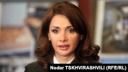 Грузияның жазалау, пробация және заңдық көмек көрсету министрі Хатуна Калмахелидзе.