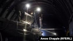 На шахті імені Героїв космосу, архівне фото