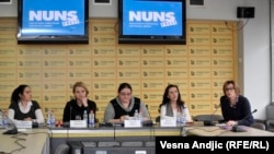 Dragana Ćirić Milovanović, Kristina Todorović, Kosana Beker, Jelena Mihajlović Marković i Svetlana Lukić
