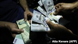 The Iranian rial has been hit hard by U.S. sanctions, which Tehran is going to court to end.