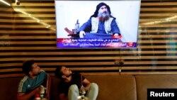 Իրաքի հեռուստատեսությունը հաղորդում է ԻՊ պարագլուխ Աբու Բաքր ալ-Բաղդադիի ոչնչացման մասին, 27-ը հոկտեմբերի, 2019թ․
