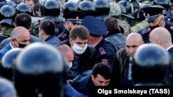 Митинг во Владикавказе, 20 апреля 2020 года