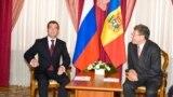 Mihai Ghimpu şi Dmitri Medvedev