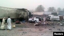 موقع تفجير في ديالى