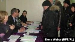 Голосование на парламентских выборах в Казахстане, Темиртау, 15 января 2012