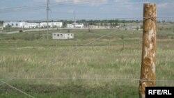На границе Казахстана и России. Костанайская область, 5 июня 2009 года.