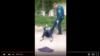 Uzbekistan - Police member beat a woman threatening her