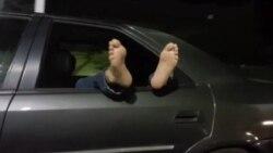 Teheran: Kampovanje u automobilima