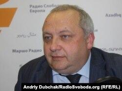 Ігор Гринів у студії Радіо Свобода. Київ, 2011 рік