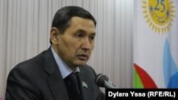 Депутат городского маслихата Нуркоз Жанабаев.