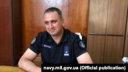 Командувач ВМС ЗСУ, контрадмірал Олексій Неїжпапа