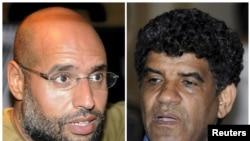 Saif Al-Islam və Abdullah Al-Senussi