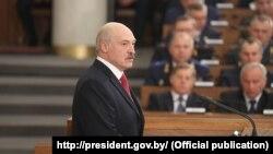 Belarusyň prezidenti Aleksandr Lukaşenka, Minsk, 24-nji aprel, 2018