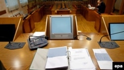 Sudnica u Specijalnom sudu u Beogradu