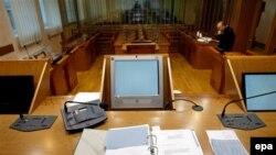 Sudnica u Specijalnom sudu u Beogradu - ilustracija
