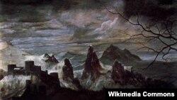 Пітэр Брэйгель старэйшы. Змрочны дзень (1565)