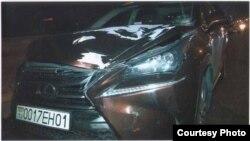 Машина, сбившая Нармину