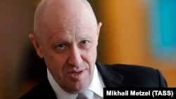 Companies linked to Russian catering tycoon Yevgeny Prigozhin have won thousands of government contracts worth billions of dollars. (file photo)