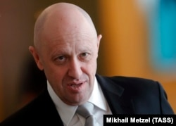 The Internet Research Agency is owned by the Russian tycoon Yevgeny Prigozhin. (file photo)