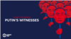 Homepage button teaser graphic for Putin's Witnesses microsite