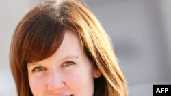 """Calgary Herald"" reporter Michelle Lang, who was killed while on assignment in Kandahar Province."