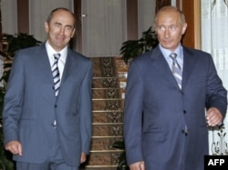 2007 год. Робэрт Качаран і Ўладзімер Пуцін