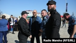 Чеченская полиция (архивное фото)