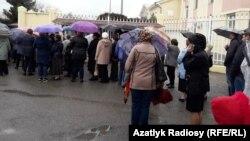 Aşgabatda Russiýanyň prezidentini saýlaýarlar
