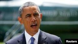 Барак Абама робіць заяву наконт Іраку 13 чэрвеня