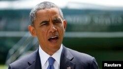 باراک اوباما میگوید مسئله کنونی عراق تا حدی سیاسی است و به همین دلیل با اقدامات کوتاه مدت نظامی حل نمیشود.