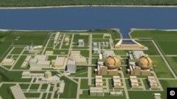Macheta Centralei Nucleare de la Belene