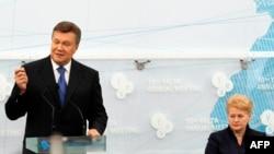 Президенти України і Литви, Віктор Янукович і Даля Ґрібаускайте на 10-й Ялтинській щорічній зустрічі «Ялтинська європейська стратегія»