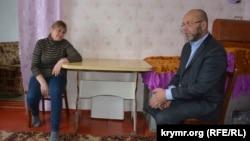 Абдурешит Джеппаров і мати Вадима Сірука Наталя