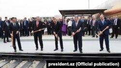 Bakı-Tbilisi-Qars (BTQ) dəmir yolunun açılışı
