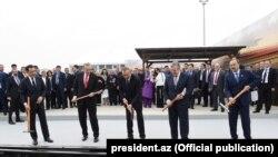 Bakı-Tbilisi-Qars dərmir yolunun açılışı. 2017
