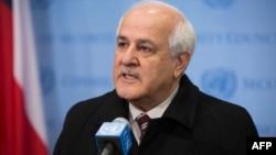 ریاض منصور، سفیر فلسطینیها در سازمان ملل