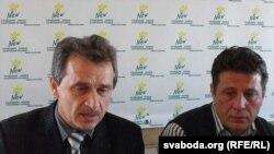 Анатоль Лябедзька і Мікалай Казлоў