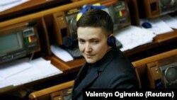 Kanunçykaryjy we öň Russiýada ýesirlikde saklanan Nadia Sawçenko