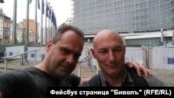 Асен Йорданов и Атанас Чобанов от Биволъ
