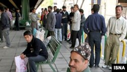 Iran's official unemployment rate is about 10 percent, but many independent estimates consider it to be at least twice that.